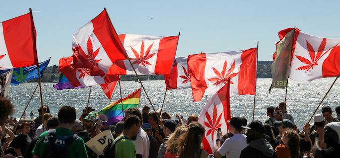 Canada Global Cannabis March